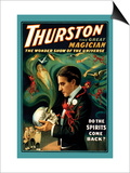 Thurston the Great Magician: Do the Spirits Come Back Posters