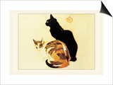 Les Chats Poster by Théophile Alexandre Steinlen