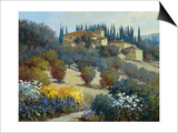 Tucked Away in Tuscany Posters by Kent Wallis
