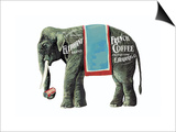 Elephant Brand French Coffee Pósters