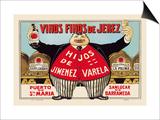Vinos Finos de Jerex Posters