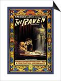 """Edgar Allen Poe's """"The Raven"""""""""""" Print"""