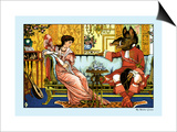 Beauty and the Beast, The Courtship, c.1900 Posters by Walter Crane