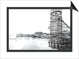 Amusement Park, Long Beach, California Art by William Henry Jackson