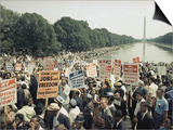 Civil Rights Washington March 1963 Prints by  Associated Press