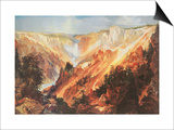 The Grand Canyon of the Yellowstone Art by Thomas Moran