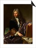 Robert de Cotte (1657-1735), premier architecte du roi Prints by Hyacinthe Rigaud