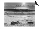 Montauk Surf No.2 Print by Richard Nowicki