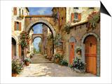 Le Porte Rosse Sulla Strada Prints by Guido Borelli