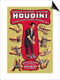 Houdini: The World's Handcuff King and Prison Breaker Prints