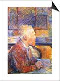 Portrait of Van Gogh Posters af Henri de Toulouse-Lautrec