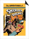 Adventures of Sherlock Holmes Plakater af Guerrini