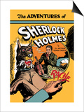 Adventures of Sherlock Holmes Prints by  Guerrini