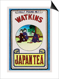 Watkins Japan Tea Poster