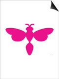 Pink Dragonfly Poster by  Avalisa