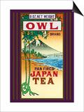 Owl Brand Tea Kunstdrucke