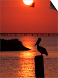 APTOPIX Pontchartrain Sunset Prints by Ann Heisenfelt