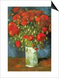 Coquelicots Posters par Vincent van Gogh