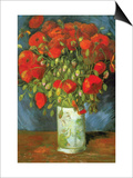 Red Poppies Posters by Vincent van Gogh