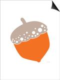 Orange Acorn Prints by  Avalisa