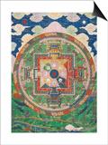 Vân mandala Posters