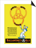 Ballantine's Ale, Purity, Body, Flavor Prints