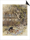 The Wind in the Willows Art by Arthur Rackham
