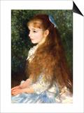 Irene Cahen D Anvers Art by Pierre-Auguste Renoir