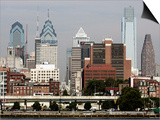 Philly Skyline Debate Posters by Tom Mihalek