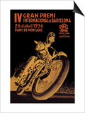 4th International Barcelona Grand Prix Prints