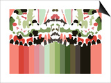 Iggy's Rainbow Print by Belen Mena