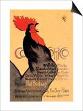 Cocorico, c.1899 Print by Théophile Alexandre Steinlen