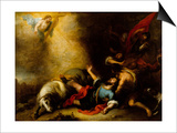 Conversion of Saint Paul Prints by Bartolome Esteban Murillo