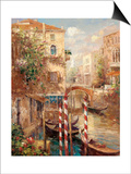 Venice Canal I Art by Peter Bell