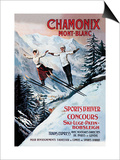Chamonix Mont-Blanc Prints by Francisco Tamagno