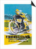 4th Motorcycle Circuit of Tortona Poster