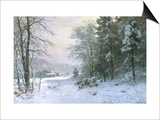Late Lies the Winter Sun Prints by Anders Andersen-Lundby