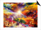 Inner Life Of Dream Print by  agsandrew