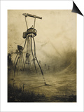 The War Of the Worlds Posters by Henrique Alvim-Correa