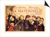 La Maternelle: Comedie en 3 Actes, c.1920 Prints by Théophile Alexandre Steinlen