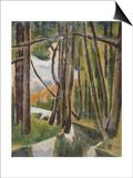 Sous-bois Prints by Roger de La Fresnaye