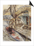 The Wind in the Willows Posters by Arthur Rackham