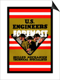 U.S. Engineers Foremost Prints by Charles Buckles Falls