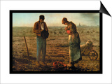 The Angelus Posters by Jean-François Millet