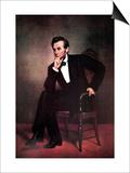 Abraham Lincoln Affiche par George Peter Alexander Healy