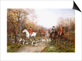 Going Through the Copse Prints by Heywood Hardy