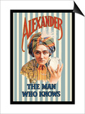 Alexander, The Man Who Knows Prints