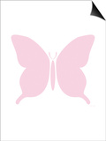 Large Pink Butterfly Posters by  Avalisa