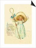 Little Bo Peep Posters by Maud Humphrey