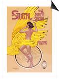 Stucchi Bicycles Prints by Gian Emilio Malerba